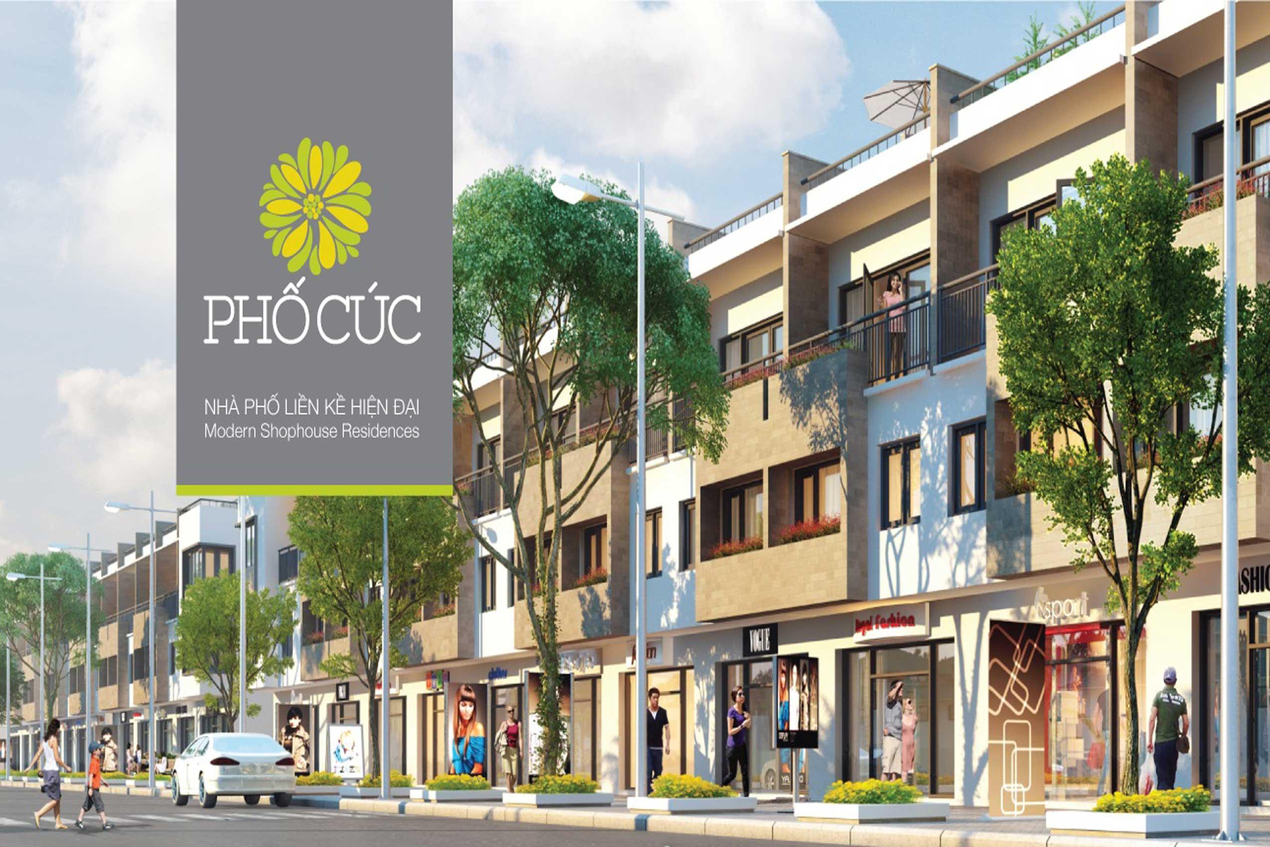 Nhà phố Cúc Ecopark