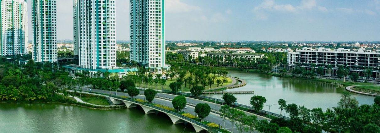 Cầu Thủy Tiên view đẹp - Ecopark
