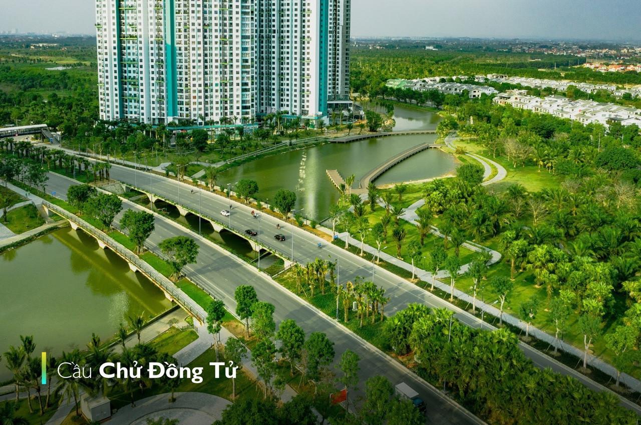 Cầu Chử Đồng Tử - Ecopark
