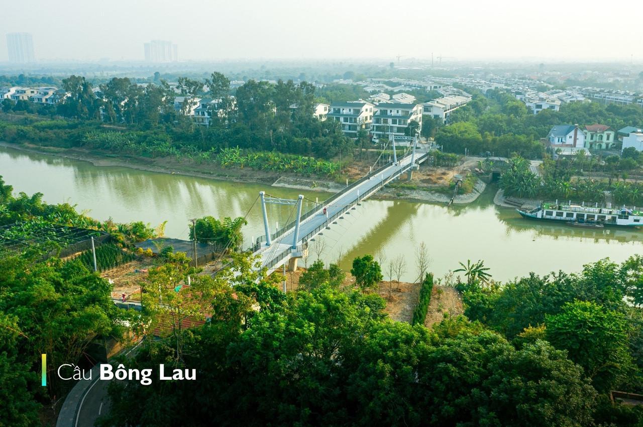 cầu Bông Lau - Ecopark
