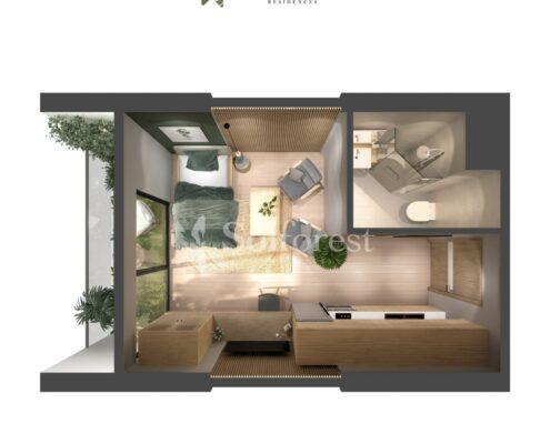 Căn hộ Studio - Solforest Ecopark