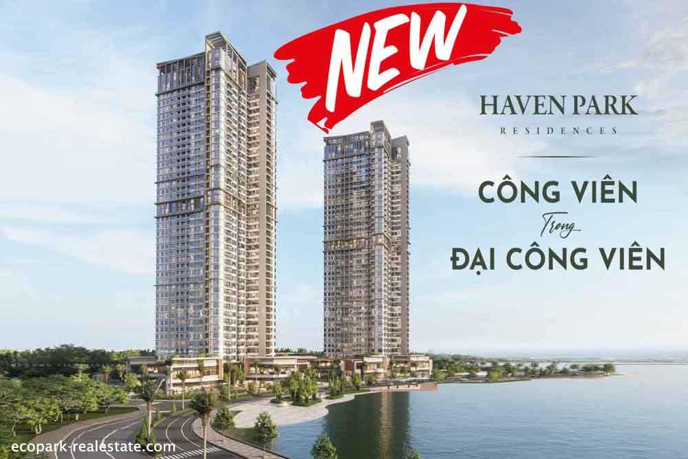 Chung cư Haven Park Ecopark new