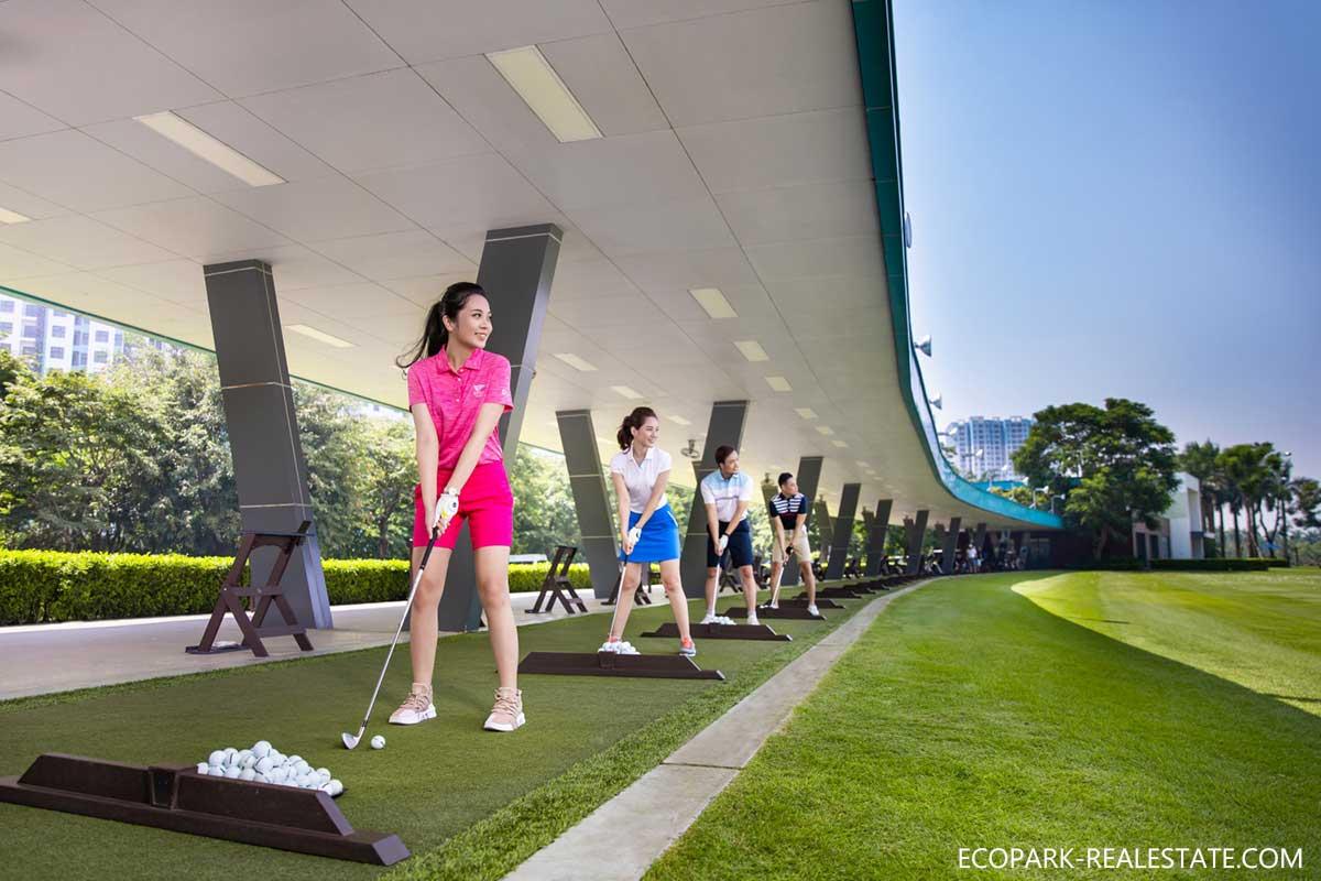 Học viện golf đẳng cấp thế giới cạnh Swan Park Onsen Ecopark